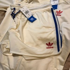 Adidas Track Jacket with Shorts to match